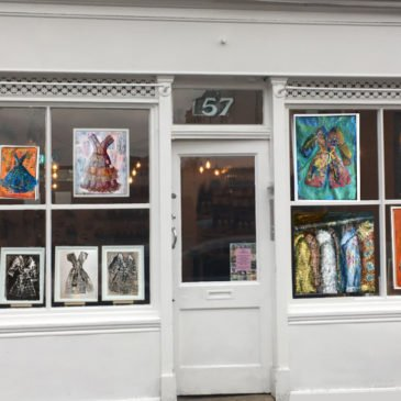 'Window Dressing' exhibition in East Dulwich
