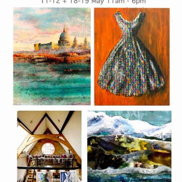 Artist's Open House 11-12 + 18-19 May