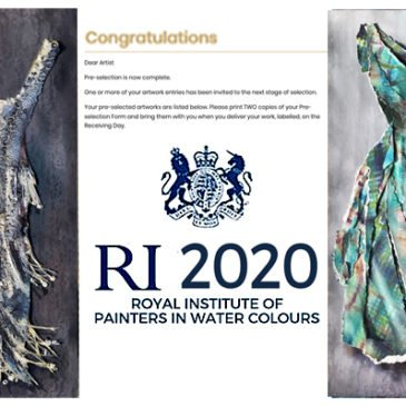 RI Watercolours – 2 paintings shortlisted